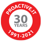 30 years of Proactive.It