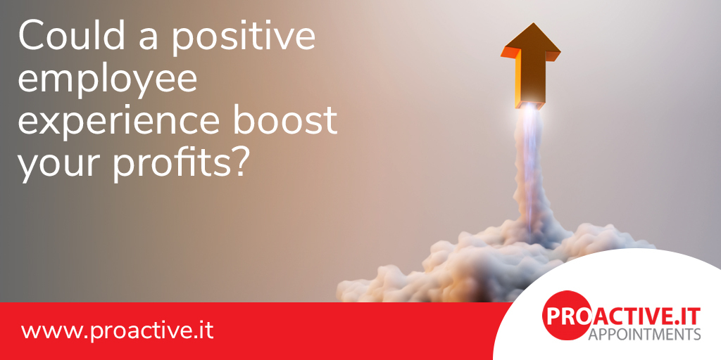 Could a positive employee experience boost your profits?